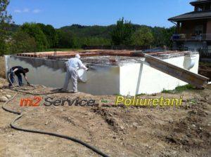impermeabilizzazione muri di fondazione in poliuretano