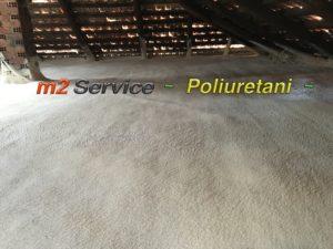 coibentazione sottotetto in poliuretano spray