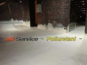 isolamento termico ed impermeabile in poliuretano