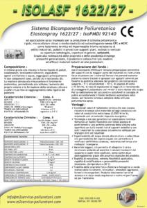 isolasf 1622/27 densità 30-45 Kg/mc