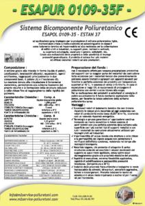 esapur 0109-35f densità 30-45 Kg/mc