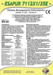 esapur 7112x1-35e densità 30-45 Kg/mc